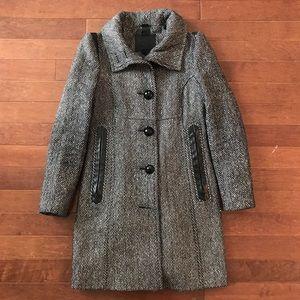 Mackage Houndstooth Long Coat